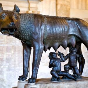 Капитолийская волчица, Рим / Тревел-фотография