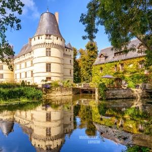 Замок Азе-ле-Ридо, Франция / Тревел-фотография