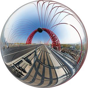 Живописный мост / Сферическая панорама