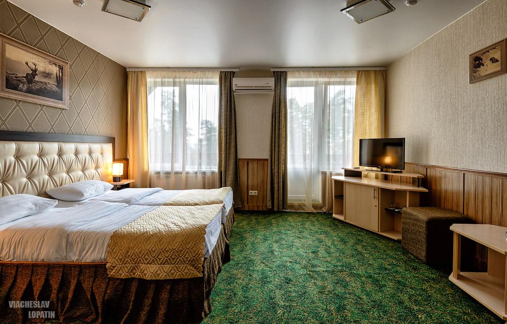 Интерьерная фотосъемка отеля