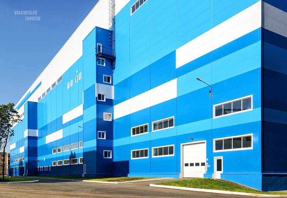 Фотосъемка завода