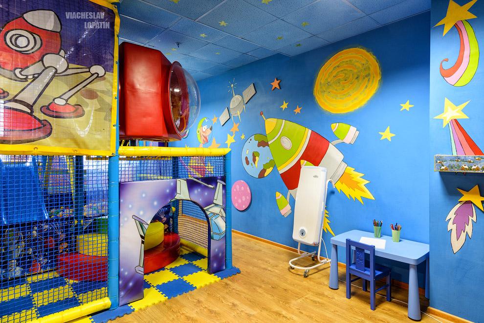 Интерьерная фотосъемка детского центра
