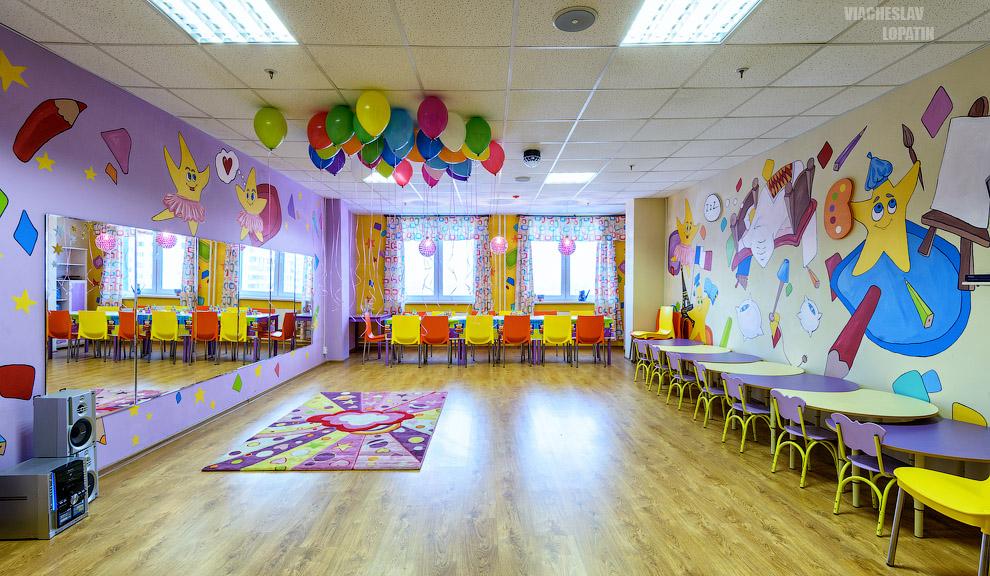 Фотосъемка детского центра
