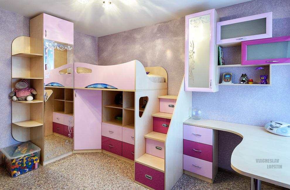 Интерьерная съемка детской комнаты