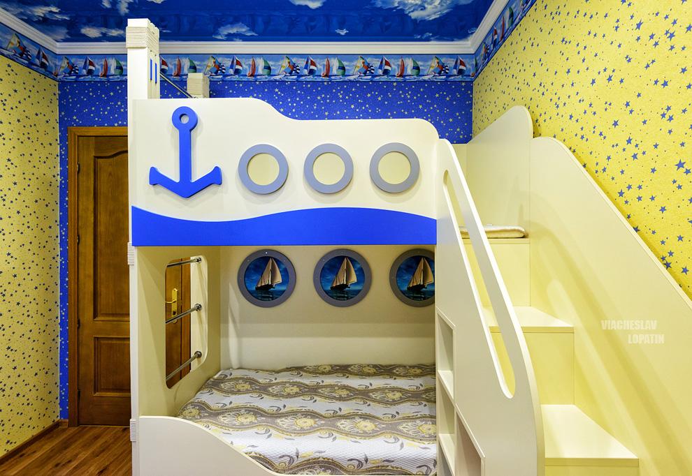 Интерьерная фотосъемка детской мебели