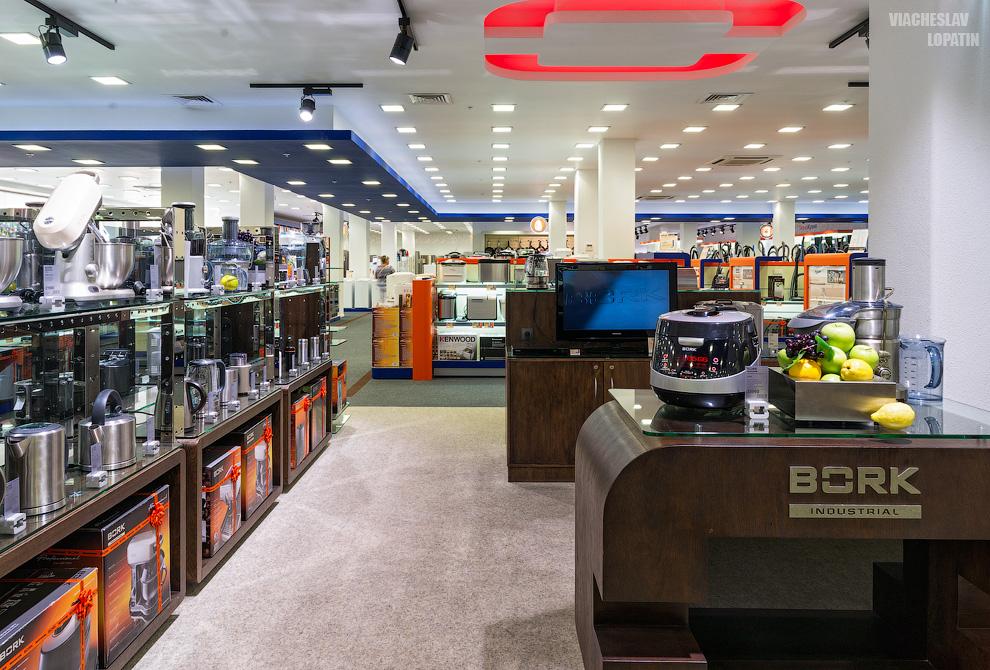 Интерьерная фотосъемка магазина