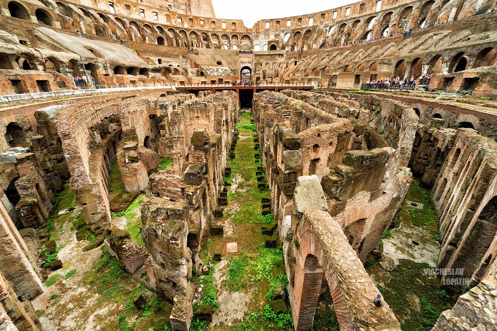 Фотография арены Колизея