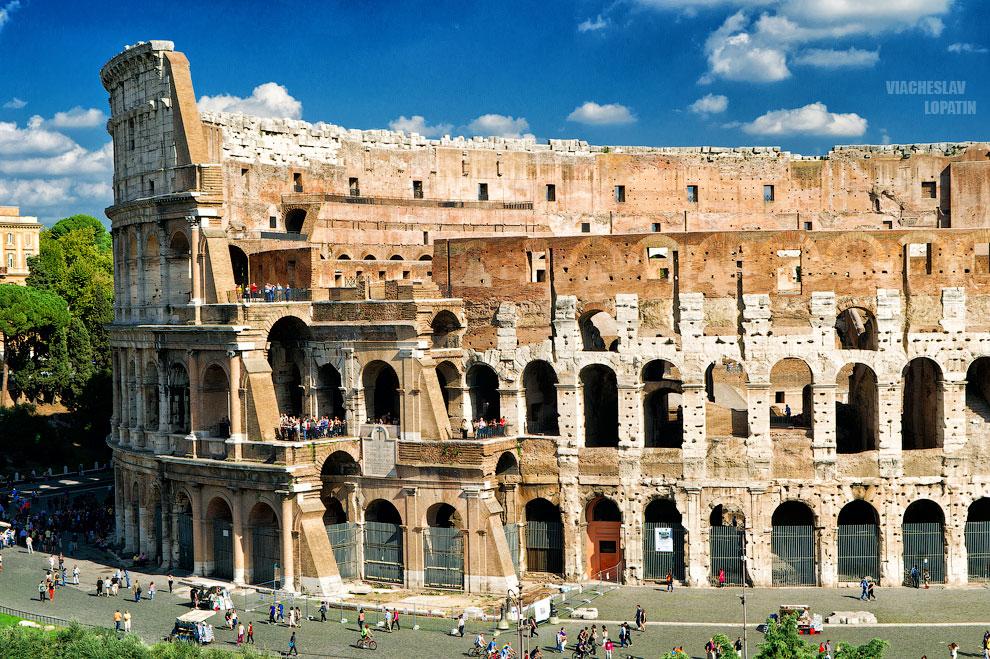 Фотография Колизея