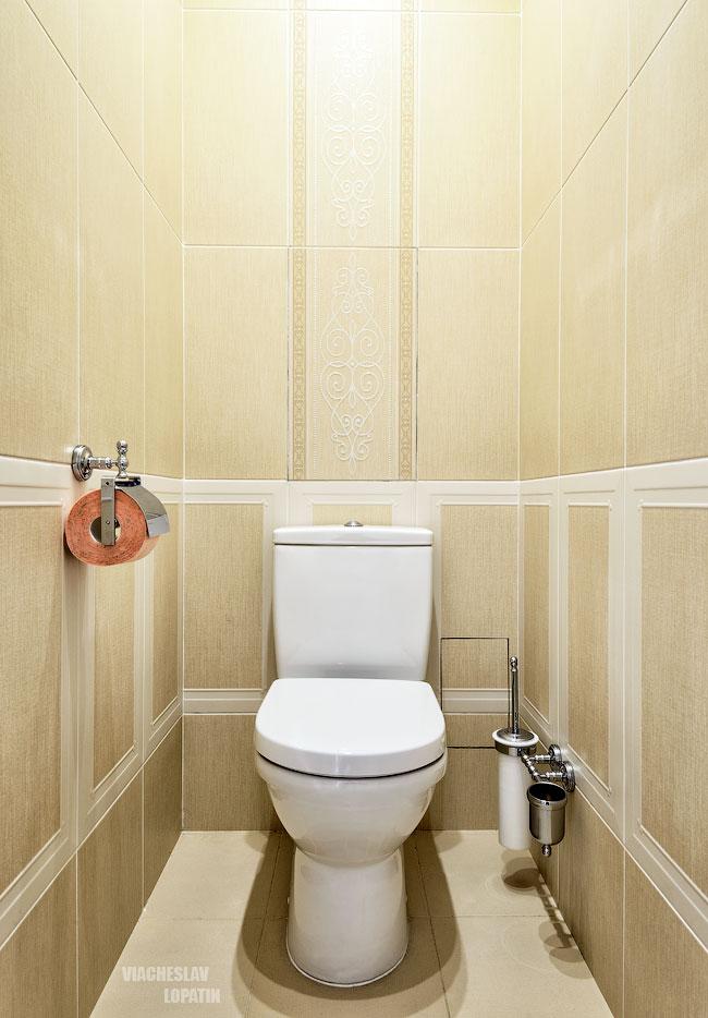 Фотосъемка интерьера квартиры: туалет