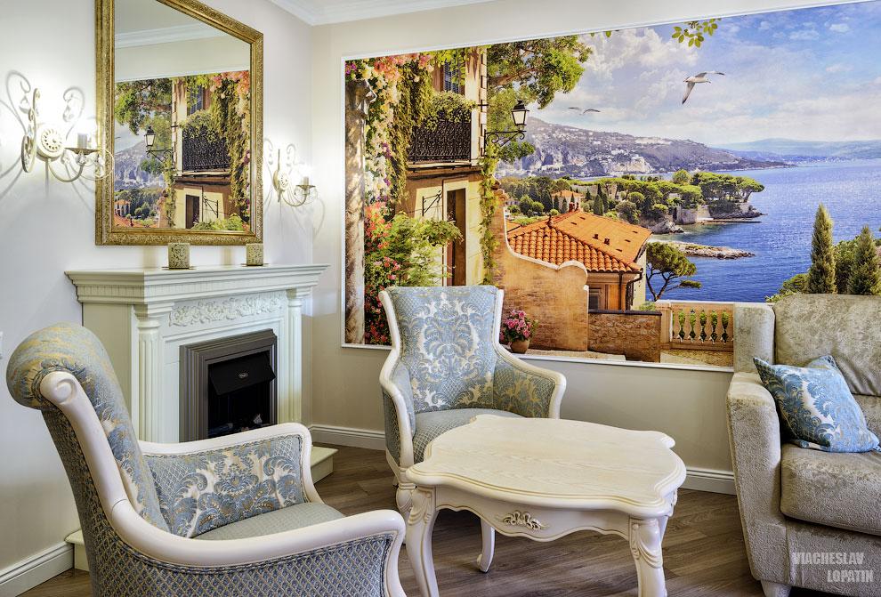 Фотосъемка интерьера квартиры: гостиная