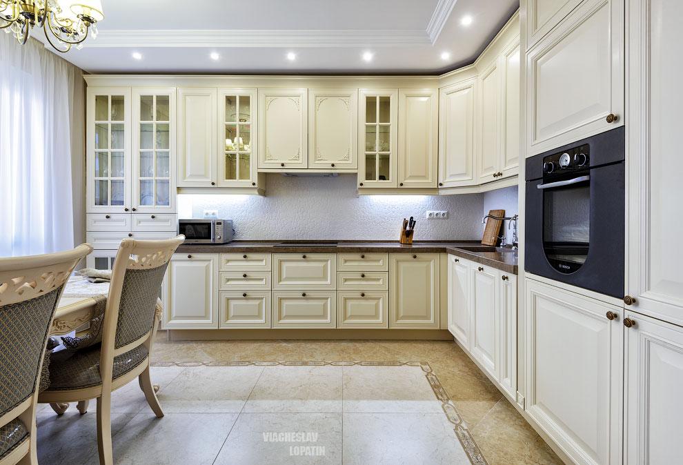 Фотосъемка интерьера квартиры: кухня
