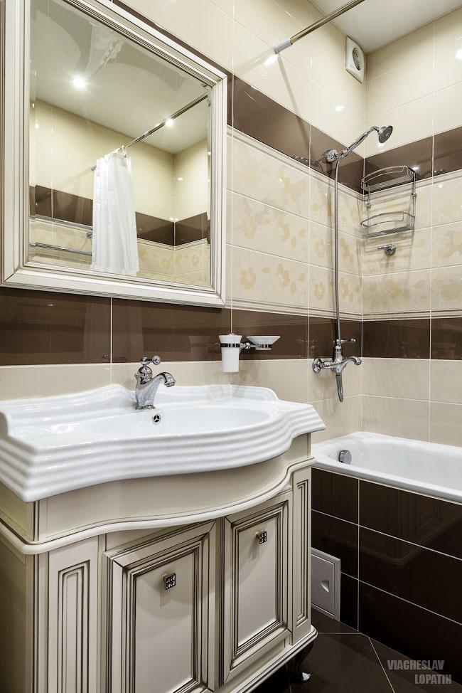 Фотосъемка интерьера квартиры: ванная