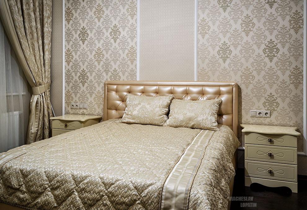 Интерьерная съемка спальни