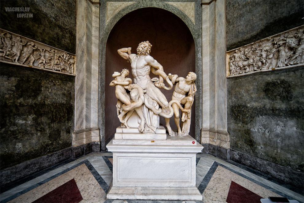 Лаокоон в Музее Ватикана