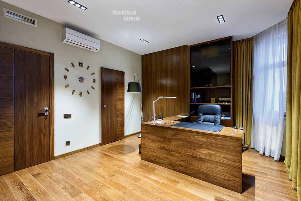 Интерьер квартиры: кабинет