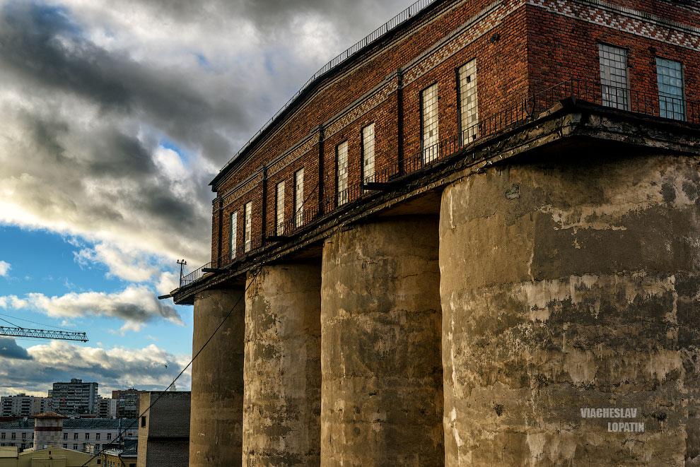 Останкинский пивоваренный завод: главное здание