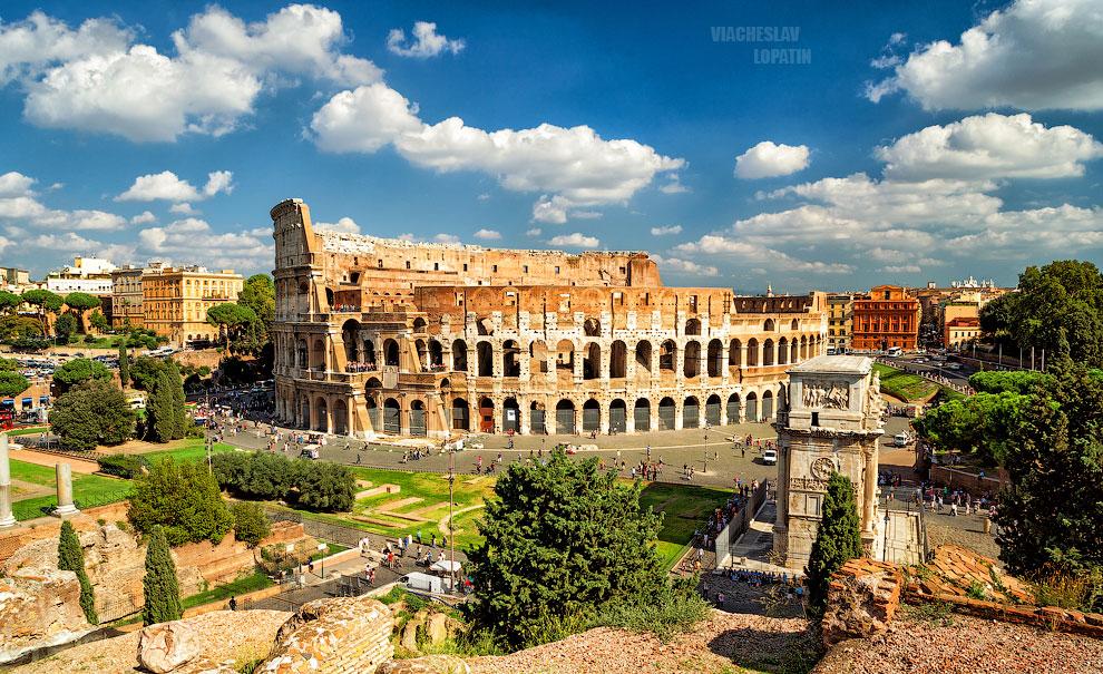 Колизей, панорама