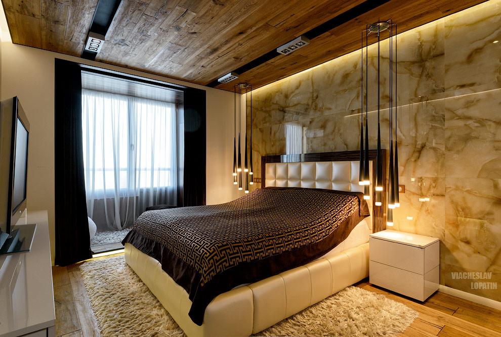 Интерьерная съемка квартиры: спальня