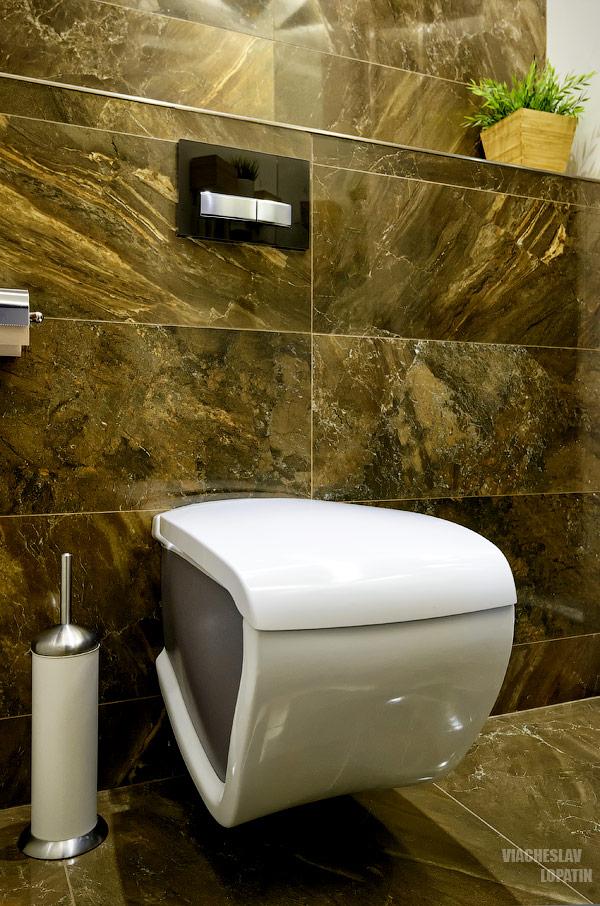 Интерьерная съемка квартиры: туалет