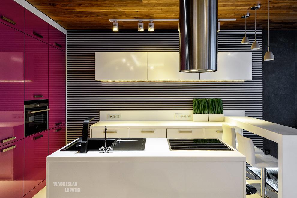 Интерьерная съемка квартиры: кухня