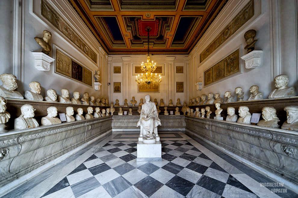 Капитолийские музеи: экспонаты