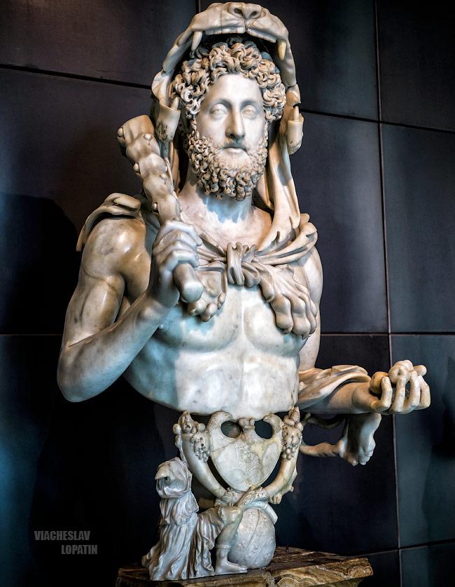 Капитолийские музеи: Коммод-Геракл