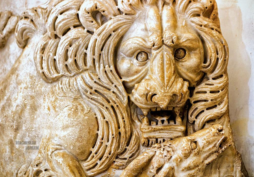 Капитолийские музеи: барельеф