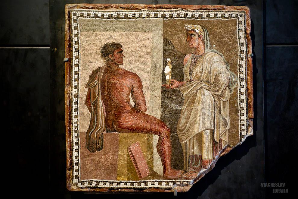 Капитолийские музеи: мозаика