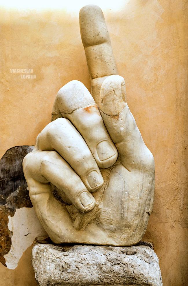 Капитолийские музеи: колосс Константина