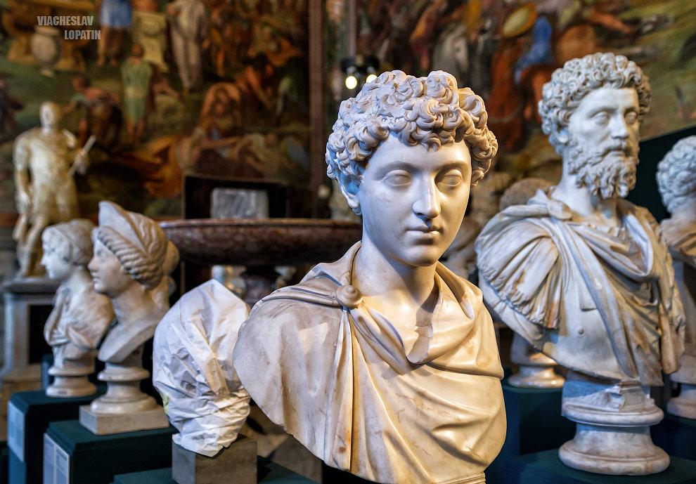 Капитолийские музеи: статуи