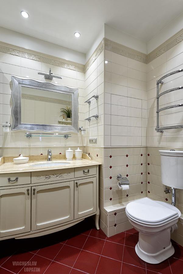 Интерьер квартиры: ванная