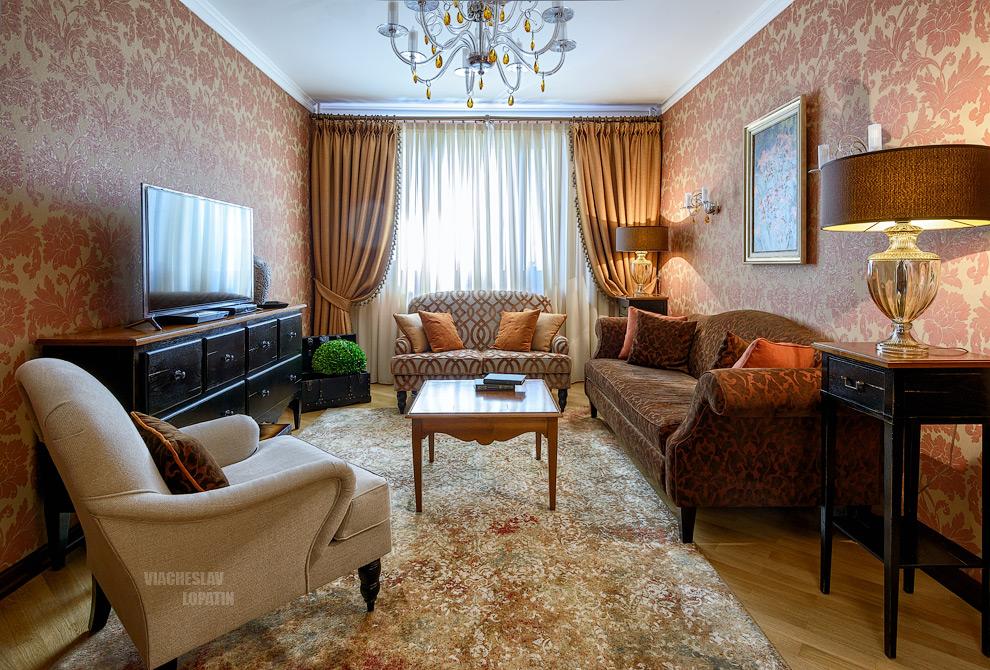 Интерьер квартиры: гостиная