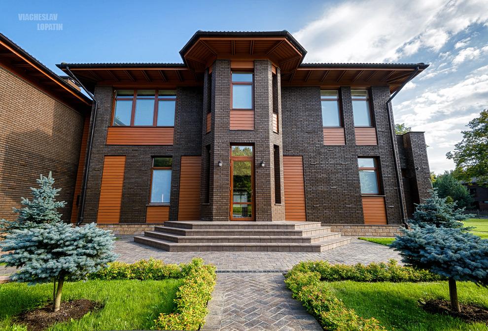 Фотосъемка загородного дома: фасад