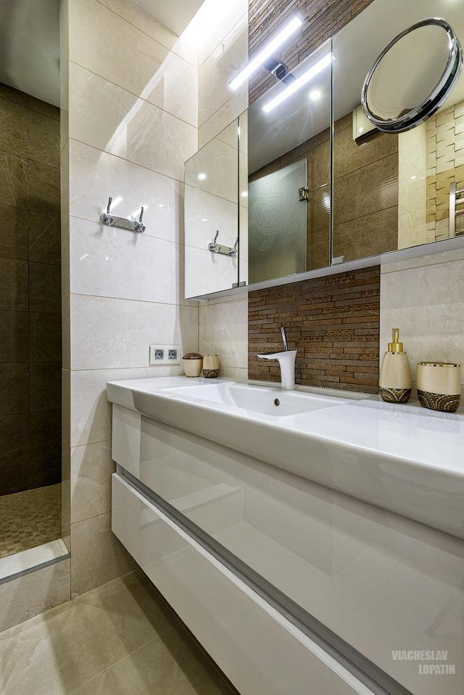 Интерьер квартиры: ванная комната