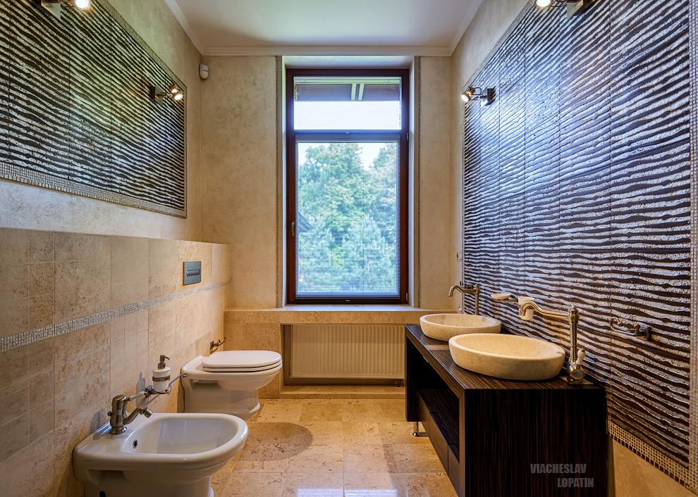 Интерьерная фотосъемка: туалет