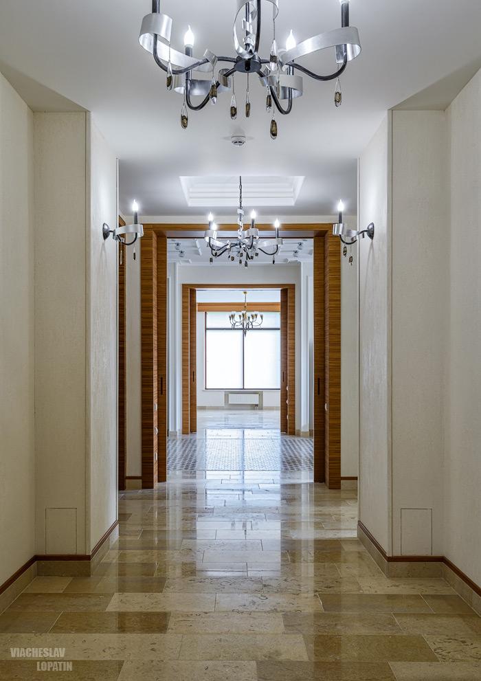 Интерьерная фотосъемка: коридор