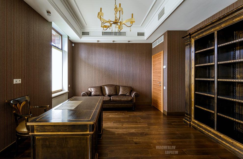 Интерьерная фотосъемка: кабинет