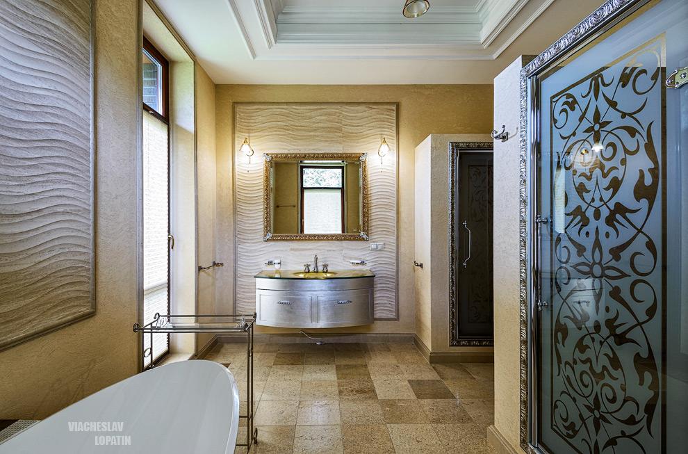 Интерьерная фотосъемка: ванная комната