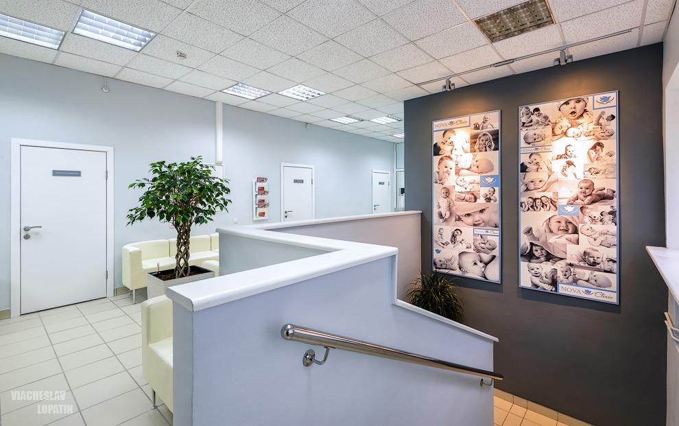 Интерьер клиники, 2-й этаж