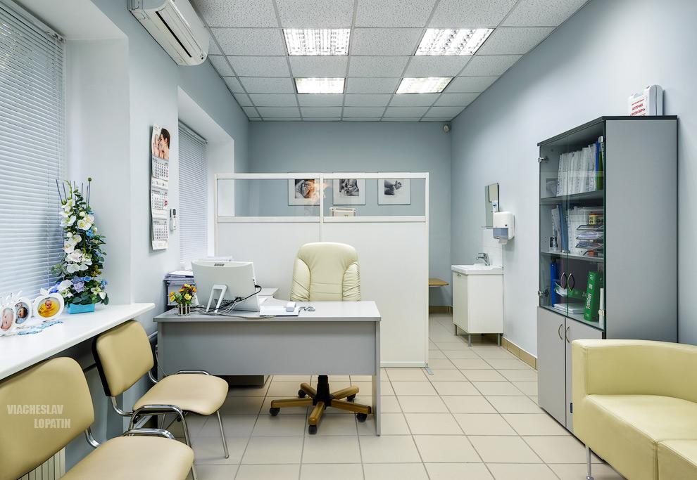 Интерьер клиники, кабинет