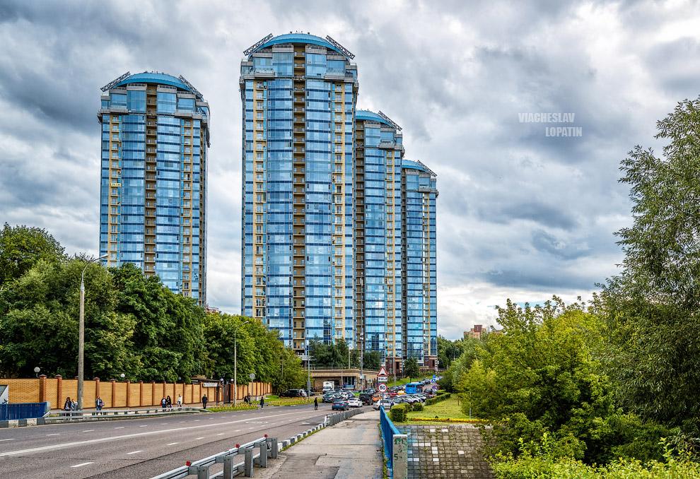 Фотосъемка квартиры: экстерьер, вид с улицы