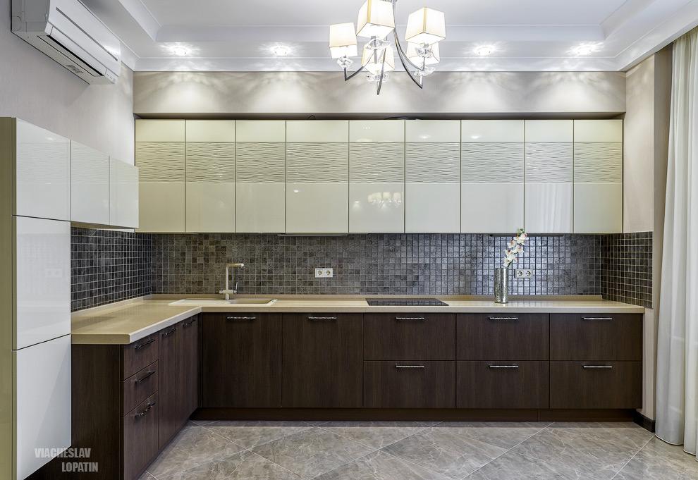 Интерьер квартиры, кухня