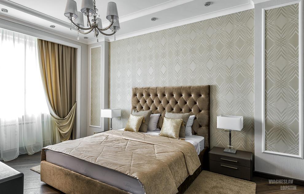 Интерьер квартиры, спальня