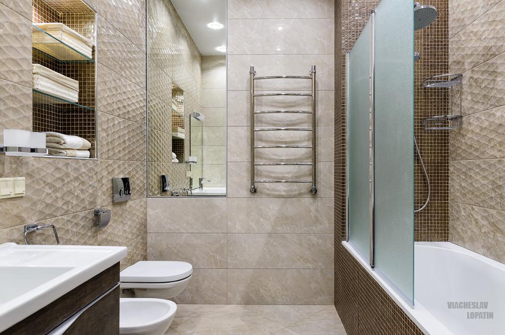 Интерьер квартиры, ванная