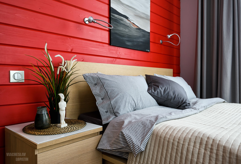 Интерьер дома: спальня