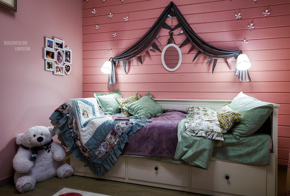 Интерьер дома: детская комната