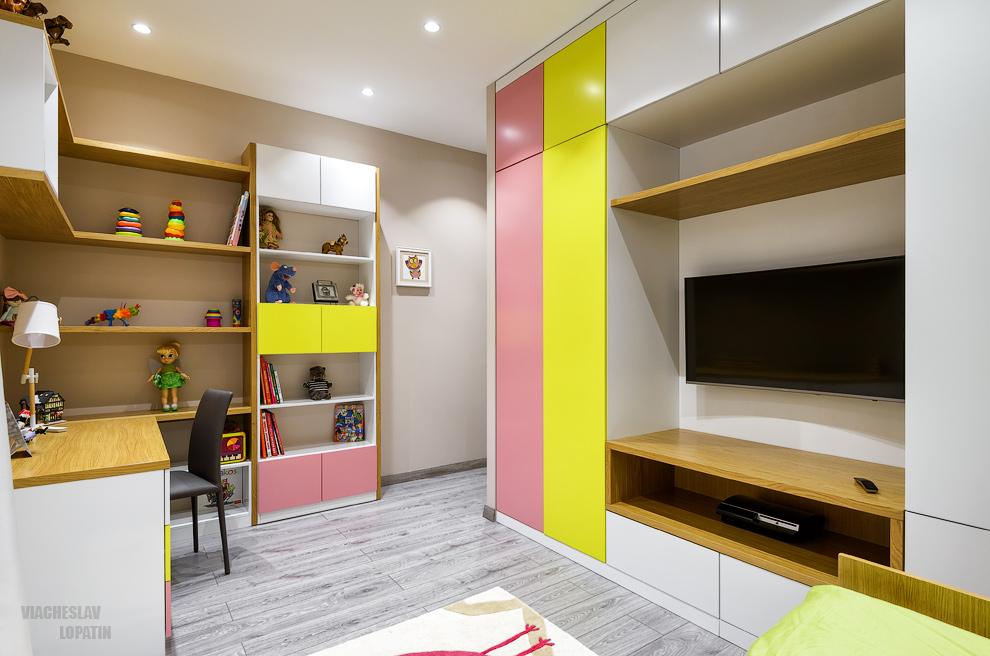 Интерьер квартиры: детская комната