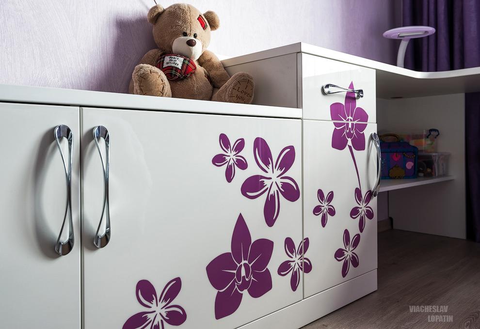 Интерьерная съемка: детская мебель