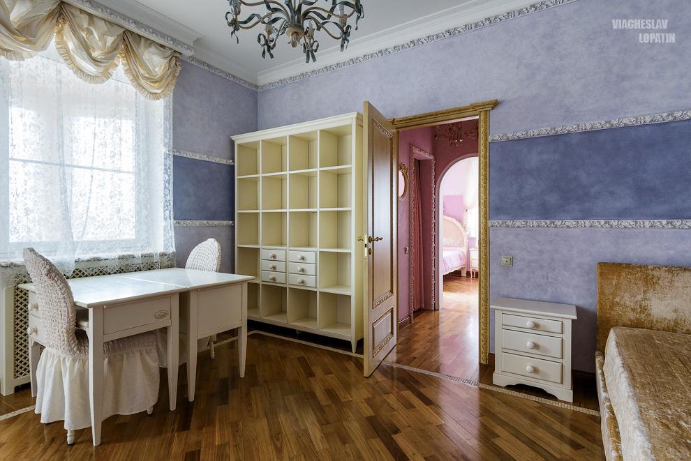 Интерьерная фотосъемка: комната