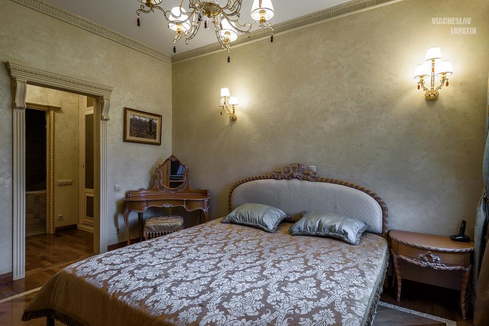 Интерьерная фотосъемка: спальня